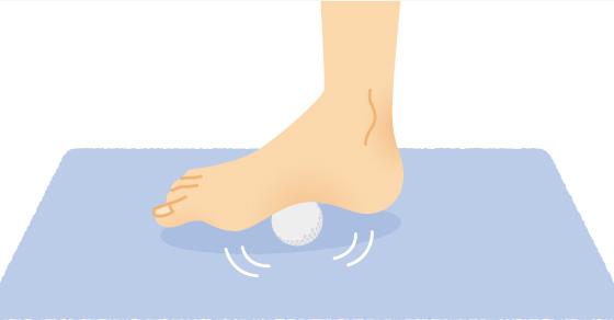 「足底 ゴルフボール」の画像検索結果