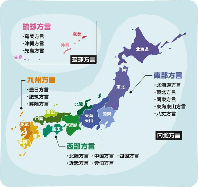 方言 地図